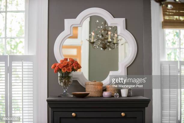 The master bedroom in the Hoburg family's renovated Capitol Hill rowhouse on July 26 2017 A Washington family makes a modest 100yearold three bedroom...