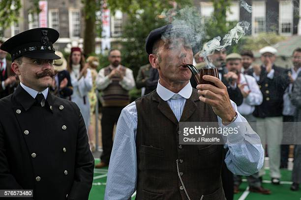 Splendid The Chaps Olympiad Stock Photos And Pictures  Getty Images With Interesting The Annual Chap Olympiad Takes Place In Bedford Square Gardens With Easy On The Eye Nz House And Garden Also Building A Garden Gate In Addition Worx Garden Cart And Marble Garden Table As Well As In The Night Garden Bedtime Little Library Additionally Singapore Orchid Garden From Gettyimagescouk With   Interesting The Chaps Olympiad Stock Photos And Pictures  Getty Images With Easy On The Eye The Annual Chap Olympiad Takes Place In Bedford Square Gardens And Splendid Nz House And Garden Also Building A Garden Gate In Addition Worx Garden Cart From Gettyimagescouk