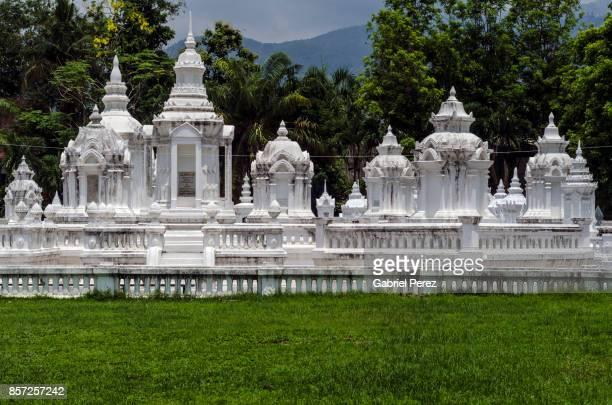 The Masuoleums of Wat Suan Dok