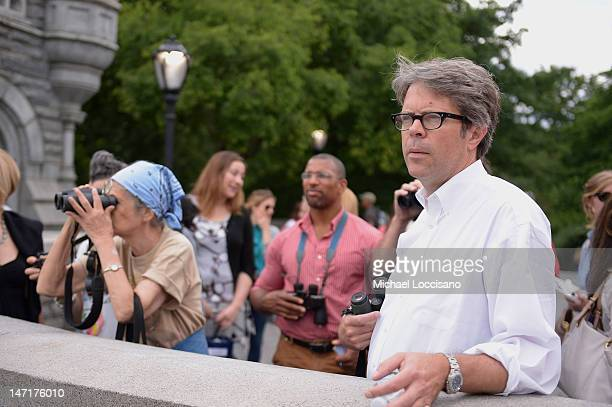 The 'matriarch of Central Park Bird Watching' film subject Starr Saphir and writer Jonathan Franzen attend the HBO Documentary Films Celebrates...