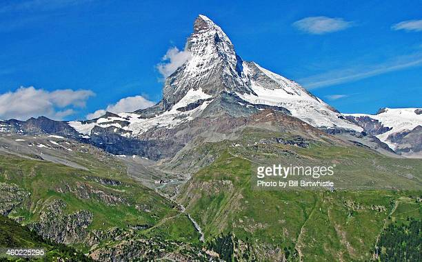 The Matterhorn in summer