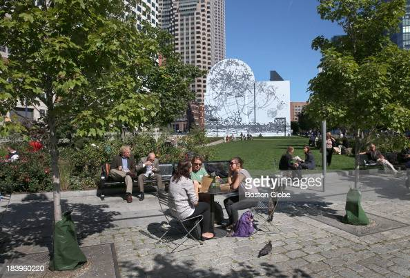 Dewey ryan stock photos and pictures getty images for Boston dewey square mural