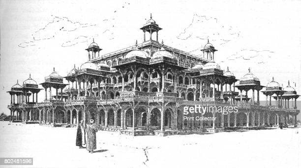 The Mausoleum of Akbar Agra' After a photograph by Firth Co From Battles of the Nineteenth Century Vol I [Cassell and Company Limited London Paris...
