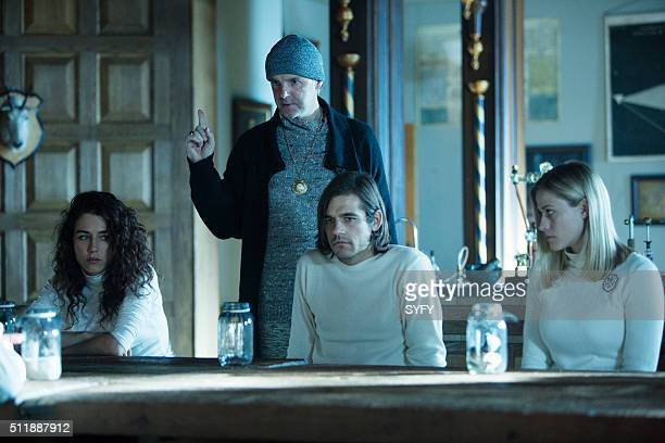 MAGICIANS 'The Mayakovsky Circumstance' Episode 107 Pictured Jade Tailor as Kady Brían F O'Byrne as Professor Mayakovsky Jason Ralph as Quentin...