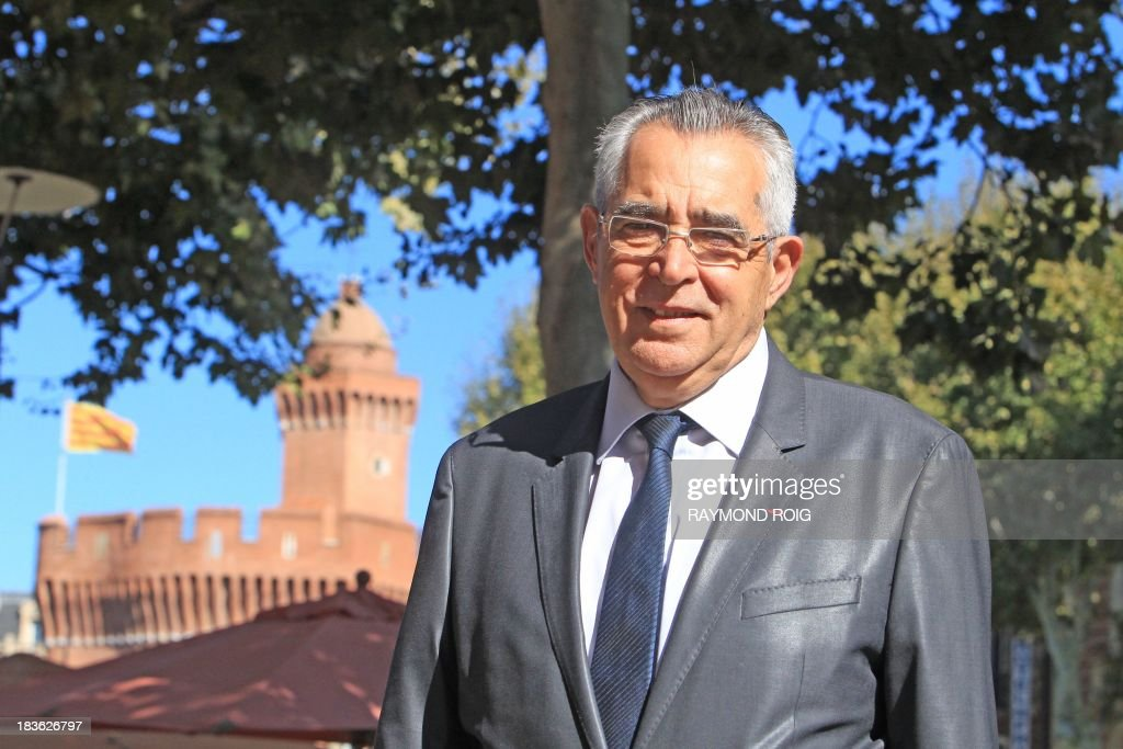 The mayor of Perpignan, Jean-Marc Pujol, poses on October 7, 2013 in Perpignan. Pujol, from the main right-wing opposition UMP (Union for a Popular Movement ) party, is candidate for his own succession in the March 2014 municipal elections. AFP PHOTO / RAYMOND ROIG