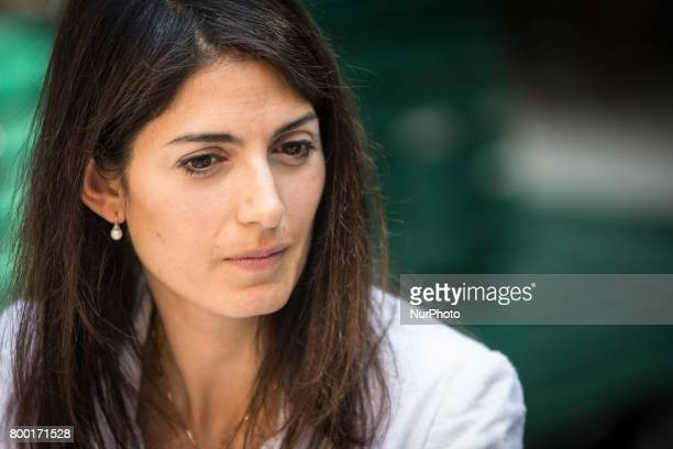 The Mayor of Rome Virginia Raggi inaugurates the new Refreshment Point of Fori Imperiali Tourist information Point and present the tourism data in...