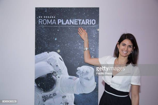 The mayor of Rome Virginia Raggi opened Rome Planetarium the largest digital planetarium which will take over the astronomical information pending...