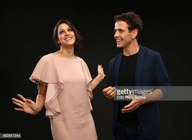 CBS' 'The McCarthys' actors Kelen Coleman and Joey McIntyre pose for a portrait during CBS' 2014 Summer TCA tour at The Beverly Hilton Hotel on July...