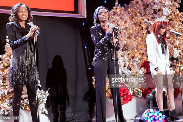 The McClain Sisters perform at The Hollywood Christmas Parade benefitting Toys For Tots Foundation Show on December 1 2013 in Hollywood California