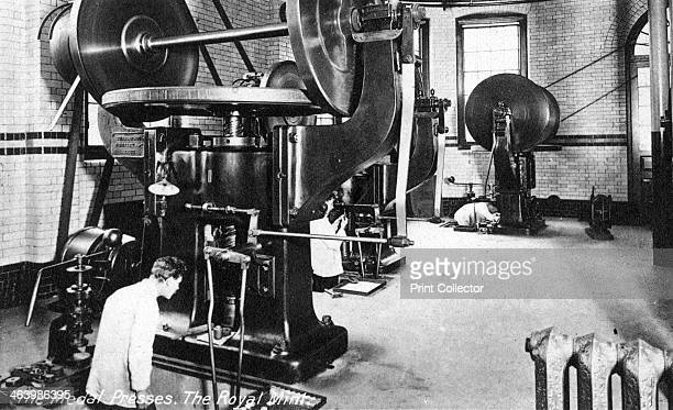 The Medal Press the Royal Mint Tower Hill London early 20th century