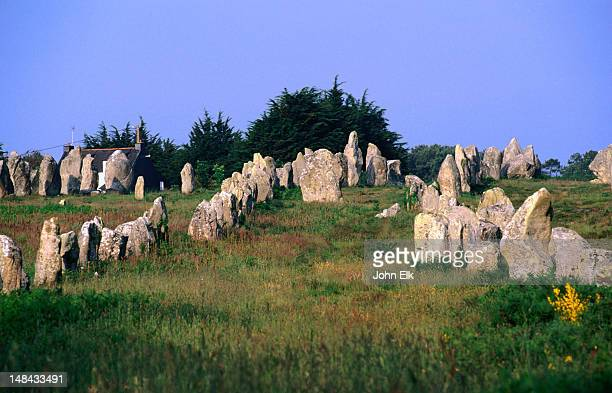 The Megaliths of Carnac, date from between 4500 and 2000 BC, these enduring sculptures include menhirs and dolmens and can weigh between two and 200 tonnes