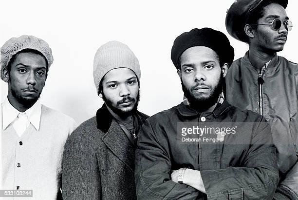 The members of Bad Brains HR Dr Know Darryl Jennifer and Earl Hudson