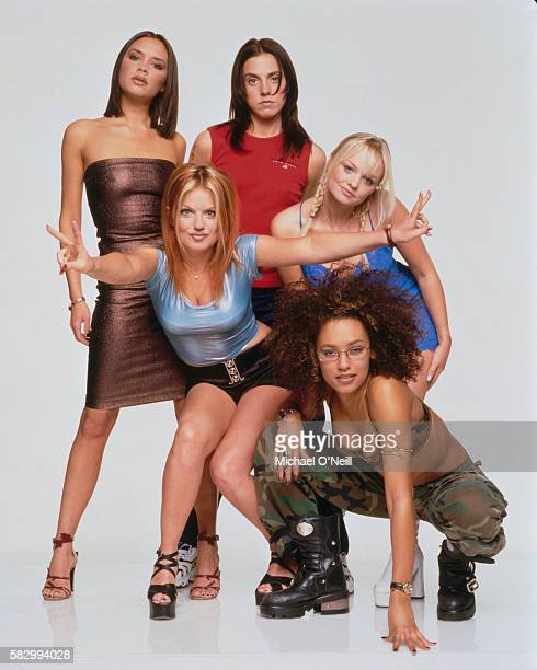 The members of the allgirl music group Spice Girls are Victoria Addams Geri Halliwell Melanie Chisholm Emma Bunton and Melanie Brown