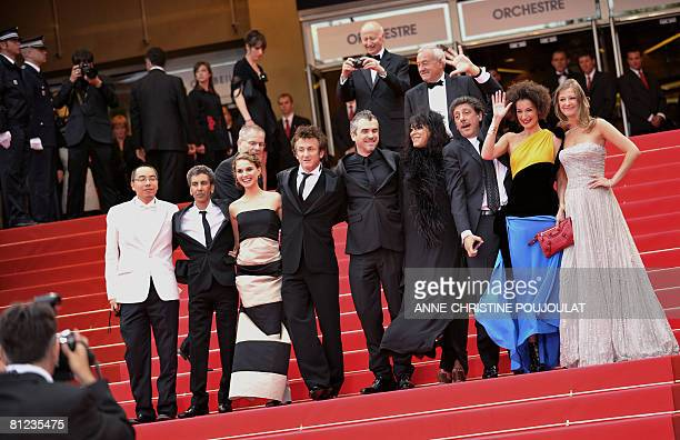 The members of the Jury Thai filmmaker Apichatpong Weerasethakul French director Rachid Bouchareb IsraeliUS actress Natalie Portman US actor and...