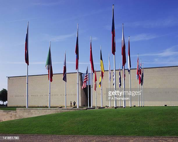 The Memorial for Peace, Caen, Calvados, Normandy, France