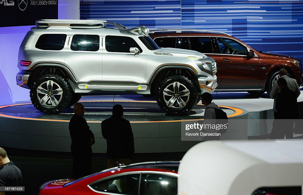 The Mercedes-Benz Ener-G-Force concept car is unveiled during the Los Angeles Auto show on November 29, 2012 in Los Angeles, California. The LA Auto Show opens to the public on November 30 and runs through December 9.