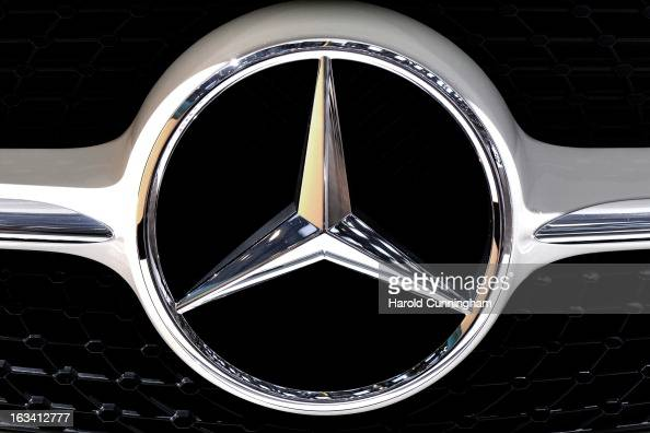 Mercedes benz stock photos and pictures getty images for Mercedes benz stock symbol