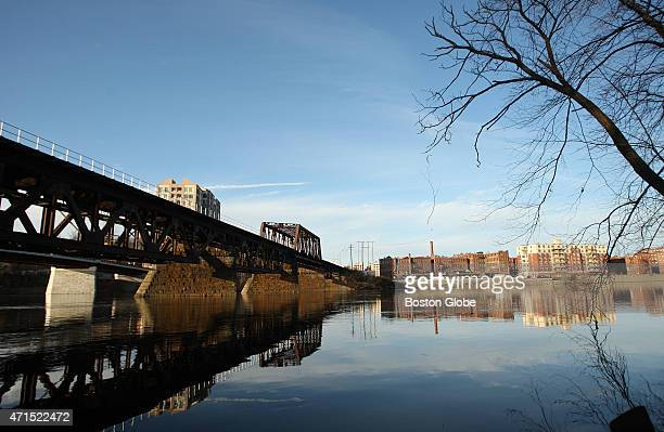 The Merrimack River Bridge in Haverhill Mass was photographed on December 4 2009 This is one of 51 unfunded MBTA projects that were deemed critical...