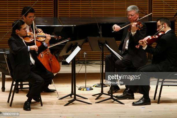 The Met Chamber Ensemble performing at Zankel Hall on Sunday afternoon February 27 2005Schubert's 'Movement in C Minor for String Quartet'from...