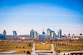 The city of Astana, capital of Kazakhstan