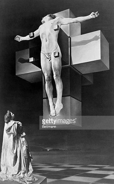 The Metropolitan Museum of Art has just received this painting by Salvador Dali of The Crucifixion as a gift from Chester Dale well known collector...