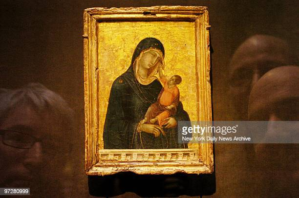 The Metropolitan Museum of Art's new $45 million acquisition a Madonna and Child by the 14thcentury Siennese painter Duccio di Buoninsegna In March...