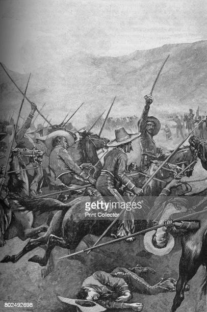 The Mexican Lancers Charged The Illinois Soldiers 1902 The Battle of Buena Vista from February 22nd to 23rd 1847 saw the United States Army use...