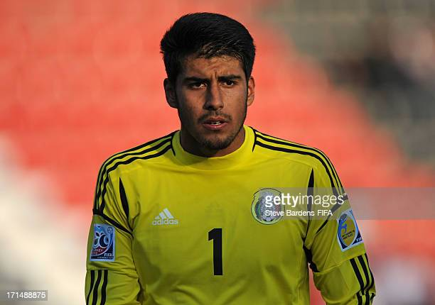 The Mexico goalkeeper Richard Sanchez during the FIFA U20 World Cup Group D match between Mexico and Paraguay at Kamil Ocak Stadium on June 25 2013...