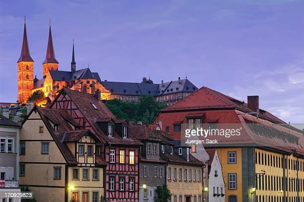 Michaelsberg Abbey und der historischen Altstadt von Bamberg