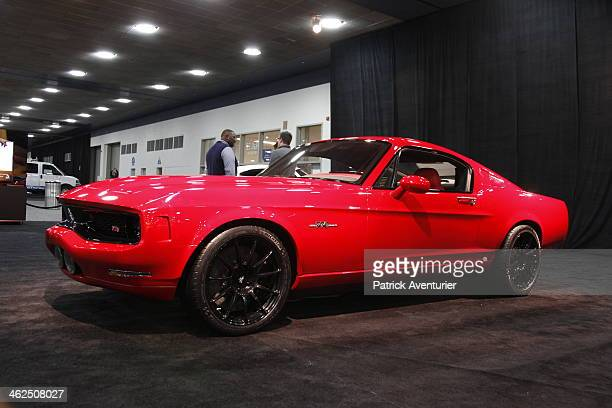 The Michiganbased new American manufacturer Equus Automotive launches the Bass770 a new luxury car at the 2014 North American International Auto Show...