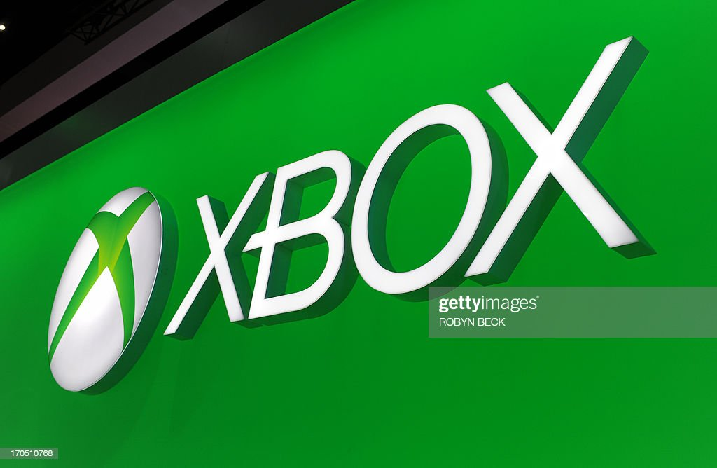The Microsoft Xbox One logo is seen on the final day of the E3 Electronic Entertainment Expo, in Los Angeles, California June 13, 2013.