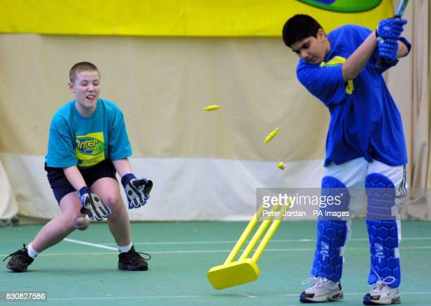 The Middlesex County Final of the Norwich Union Inter Cricket Indoor Tournament at Lord's Cricket Ground London