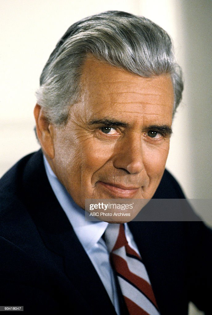 DYNASTY - 'The Mid-East Meeting' - Season Two - 12/15/81, Blake (John Forsythe, pictured) and Jeff attempted to arrange a meeting with Rashid Ahmed to obtain assistance in releasing their overseas oil tankers.,
