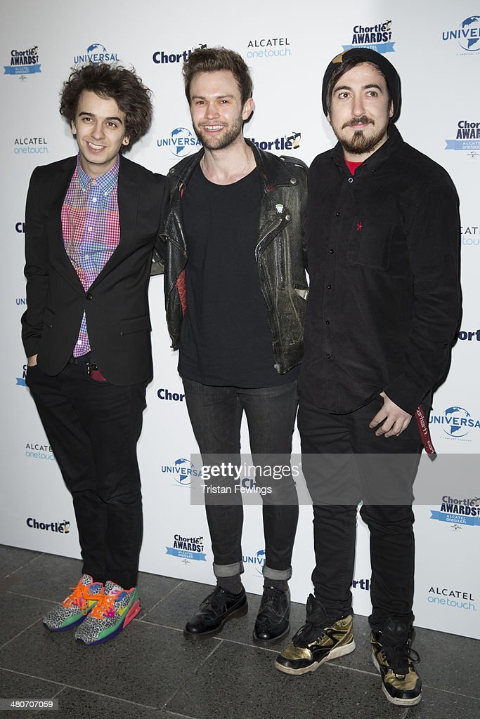 The Midnight Beast attends the Chortle Awards at Ministry Of Sound on March 26, 2014 in London, England.