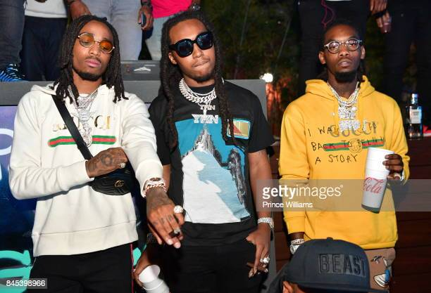 The Migos attend a Party at Compound on September 10 2017 in Atlanta Georgia