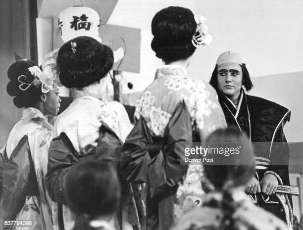MAR 4 1970 MAR 5 1970 'The Mikado' Bows at Graland From left Tony Crawford Jennifer Tabor and Lisbeth Linley as the three little girls from school...
