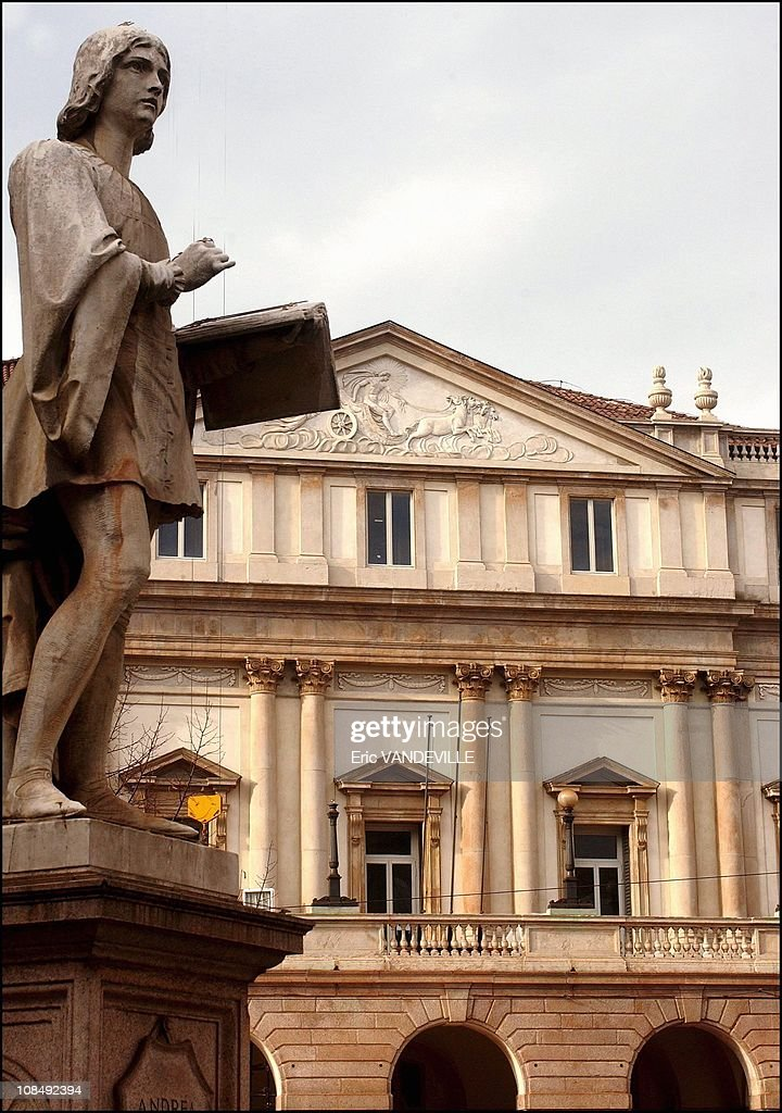The Milan's opera house will officially reopen on December 7 after a EUR 61 million renovation with a performance of Salieri's 'Europa Riconsciuta', the first opera staged at La Scala when it opened in 1778. The carvings in some of the boxes, the antique mirrors and tapestries exactly resembled La Scala as it was at the opening night 226 years ago. The Milan's opera house in Milan, Italy on November 12th , 2004.