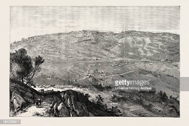 The Military Expedition To Manipur Eastern Frontier Of India Kohima The British Military Station In Assam On The Border Of Manipur