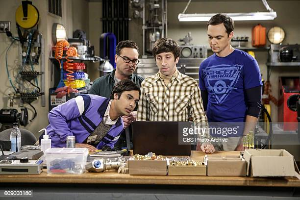'The Military Miniaturization' Pictured Rajesh Koothrappali Leonard Hofstadter Howard Wolowitz and Sheldon Cooper Colonel Williams an Air Force...