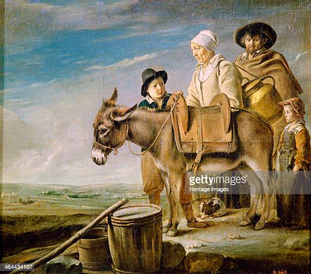 'The Milkmaid's Family' 1641 Found in the collection of the State Hermitage St Petersburg