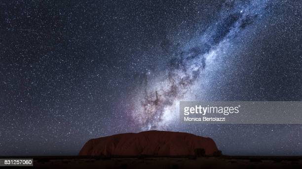 The milky Way in Uluru
