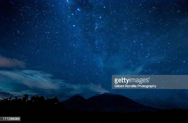 The Milky Way over Mt. Banahaw de Lucban