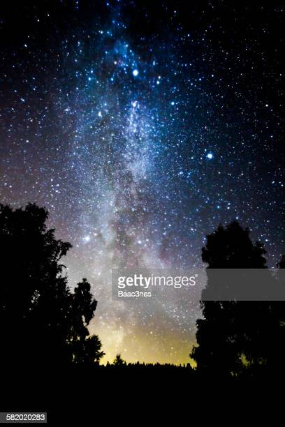 The Milky Way seen from Drammen, Norway