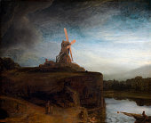 The Mill 164548 From the National Gallery of Art Washington DC Oil on canvas