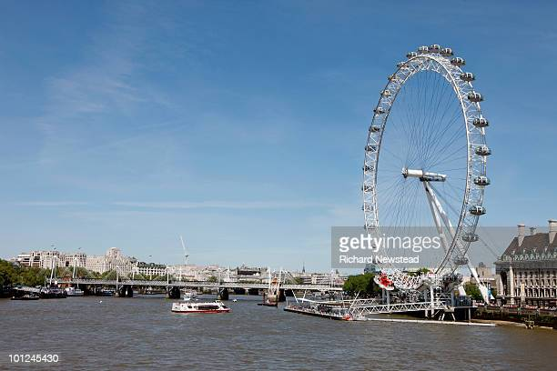 The Millennium Wheel and Thames