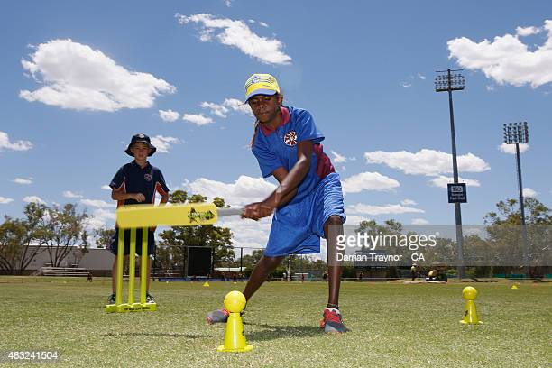 The Milo T/20 Blast School Cup takes place during the 20415 Imparja Cup on February 12 2015 in Alice Springs Australia