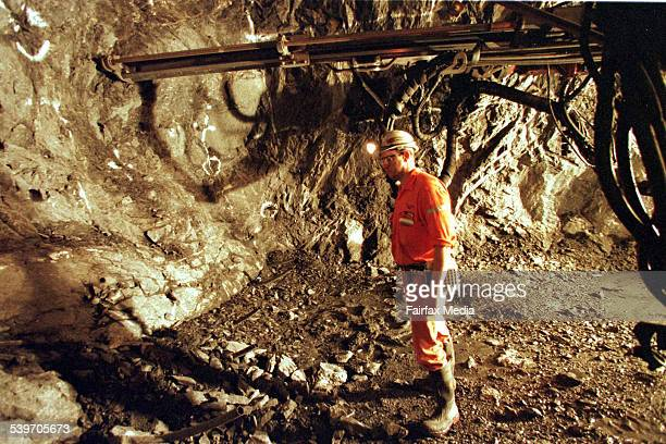 The MIM mine in Mt Isa Queensland 14 September 1999 AFR Picture by ROBERT ROUGH