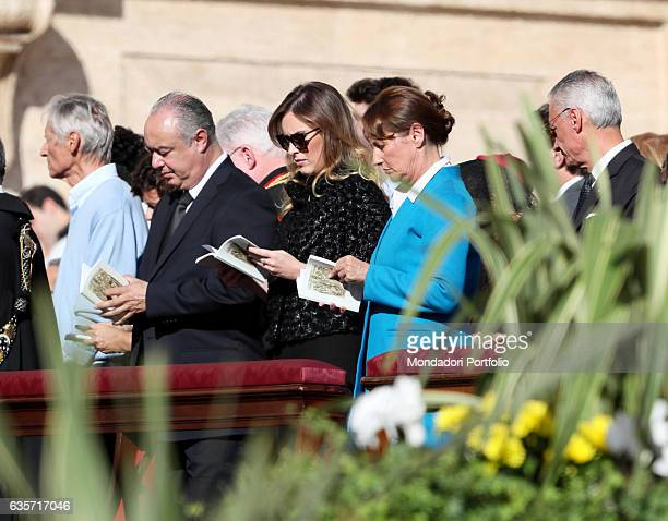The Minister for Constitutional Reforms and Relations with the Parliament of the Italian Republic Maria Elena Boschi and the Minister of Ecology...