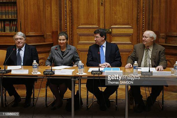 The Minister of Education Xavier Darcos launches mission on teaching the Holocaust in Paris France on February 27th 2008 The Minister of Education...