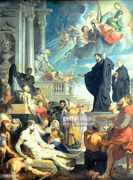 The miracle of St Francis Xavier by Peter Paul Rubens Vienna Kunsthistorisches Museum